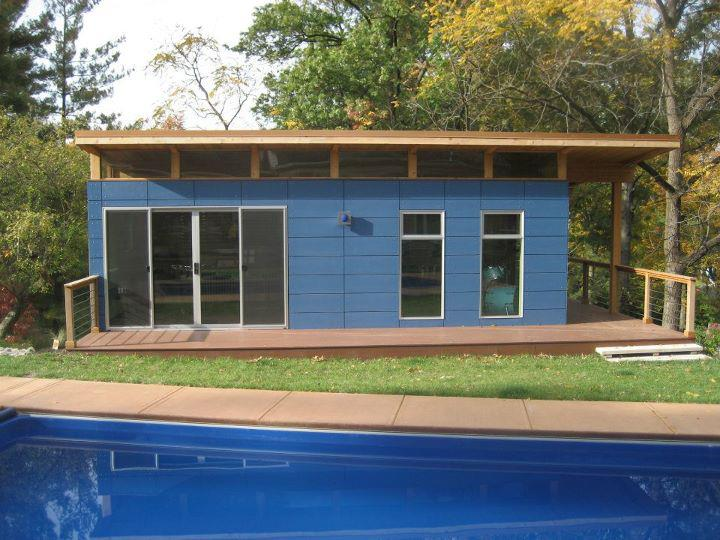 Green space living living green in a modern world page 2 for Modular pool house