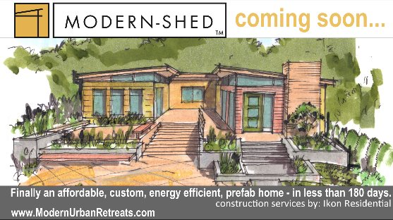 Everything is bigger in Texas Including ModernShed Green